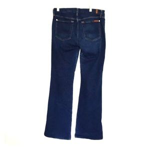 7 For All Mankind size 32 blue jeans